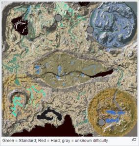 Extinction - Höhlenkarte