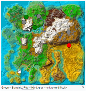 Ragnarok - Höhlenkarte