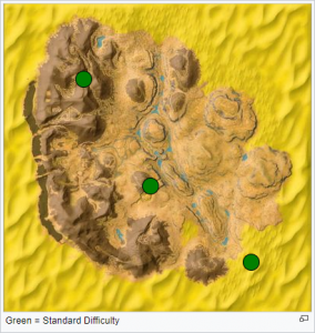 Scorched Earth - Höhlenkarte